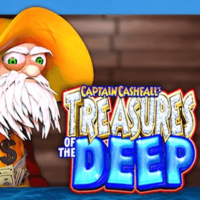 Captain Cashfall Treasures of the Deep